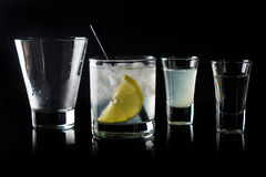 Cocktail making Royalty Free Stock Photography