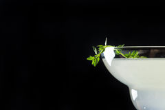 Cocktail in margarita glass Royalty Free Stock Photos
