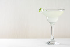 Cocktail in margarita glass Royalty Free Stock Photography