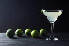 Cocktail in margarita glass Stock Image