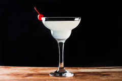 Cocktail in margarita glass Royalty Free Stock Images
