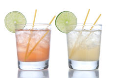 Cocktail margarita or long island Royalty Free Stock Images