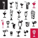 Cocktail messi Fotografie Stock Libere da Diritti