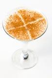 Cocktail met chocolade Royalty-vrije Stock Foto