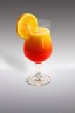 Cocktail met citroen en kalk Stock Fotografie