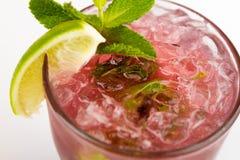 Cocktail met Kalk Stock Fotografie