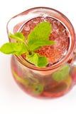 Cocktail met Kalk Stock Foto