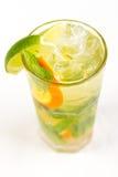 Cocktail met Kalk Royalty-vrije Stock Fotografie
