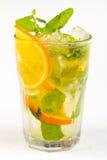 Cocktail met Kalk royalty-vrije stock afbeelding