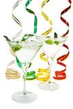Cocktail met muntblad Royalty-vrije Stock Fotografie