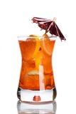 Cocktail met paraplu Royalty-vrije Stock Afbeelding