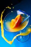 Cocktail met plonsen Stock Foto