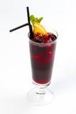 Cocktail met sinaasappel Stock Afbeeldingen