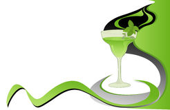 Cocktail Mint Card Royalty Free Stock Images