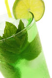 Cocktail Mint Julep Stock Photo