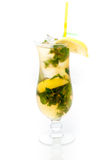 Cocktail with mint and lemon Royalty Free Stock Photography