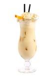 Cocktail mit Creme und Orange Lizenzfreie Stockfotografie