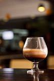Cocktail mit Kaffee Stockbild