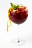 Cocktail mit Orange Lizenzfreies Stockbild