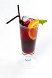Cocktail mit Orange Lizenzfreie Stockfotografie