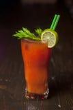 Cocktail mit Petersilie und Tomate 4 Lizenzfreie Stockbilder