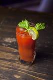 Cocktail mit Petersilie und Tomate 8 Stockfotografie