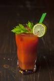 Cocktail mit Petersilie und Tomate 3 Lizenzfreie Stockfotos