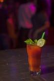 Cocktail mit Petersilie und Tomate 2 Lizenzfreie Stockbilder