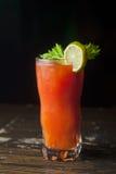 Cocktail mit Petersilie und Tomate 7 Lizenzfreie Stockbilder