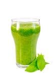Cocktail mit Spinat lizenzfreies stockbild
