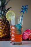 Cocktail mit Wodka und Saft Stockfoto