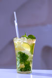 Cocktail mohito with mint and lime Royalty Free Stock Images