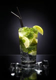 Cocktail mojito stock photography