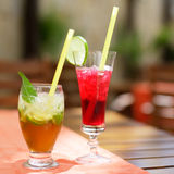 Cocktail-mojito, Adam und Eva Lizenzfreie Stockfotografie