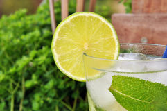 Cocktail Mojito Stockfoto