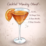 Cocktail Monkey Gland Stock Photo