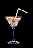 Cocktail mortel photo stock