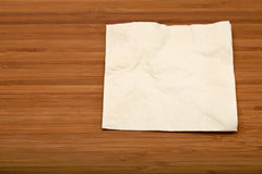 Cocktail napkin Royalty Free Stock Photography