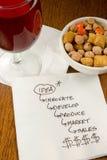 Cocktail Napkin Ideas Stock Photos