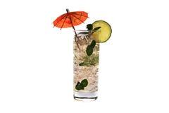 Cocktail no vidro fotos de stock