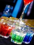 Cocktail nocturne photographie stock libre de droits
