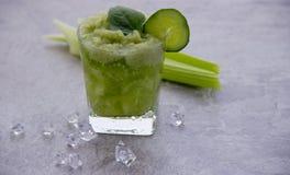 Cocktail nutritif de c?leri pour la perte de poids et maintenir un mode de vie sain photo libre de droits