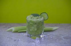 Cocktail nutritif de c?leri pour la perte de poids et maintenir un mode de vie sain photo stock