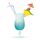 Cocktail Ocean Diver Royalty Free Stock Images