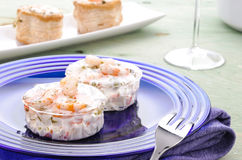 Free Cocktail Of Shrimp In Jelly Stock Photo - 22516930