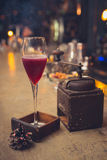 Cocktail op de bar Royalty-vrije Stock Foto