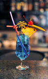 Cocktail op staaf Royalty-vrije Stock Fotografie