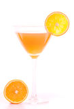 Cocktail of orange Stock Image