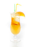 Cocktail with orange Royalty Free Stock Photo