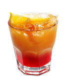 Cocktail with Orange Royalty Free Stock Image